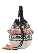 Sac Bourse Apache Blue pearl Multicolore apache RKA4023