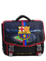 Cartable 2 Compartiments Fc barcelone Noir 1899 163B203S